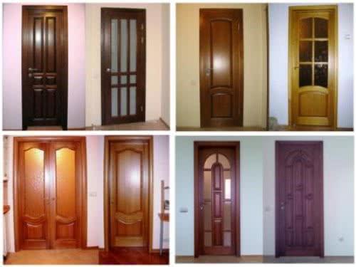 фото: филенчатая дверь