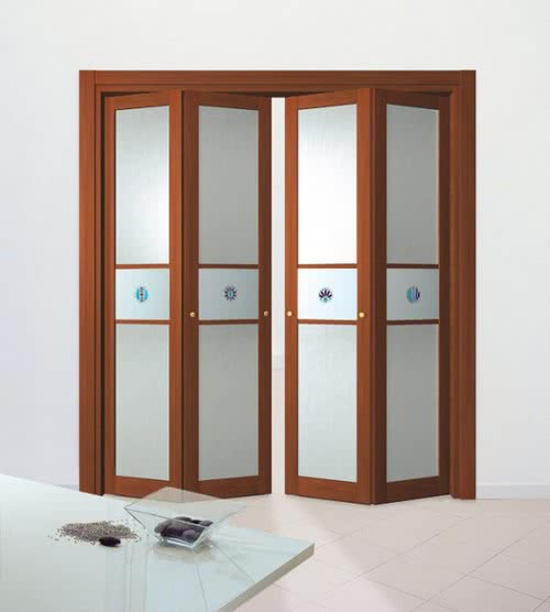 фото: складная дверь