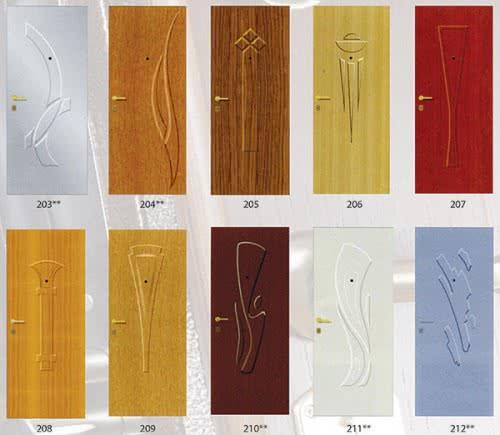 фото: МДФ панели для отделки двери