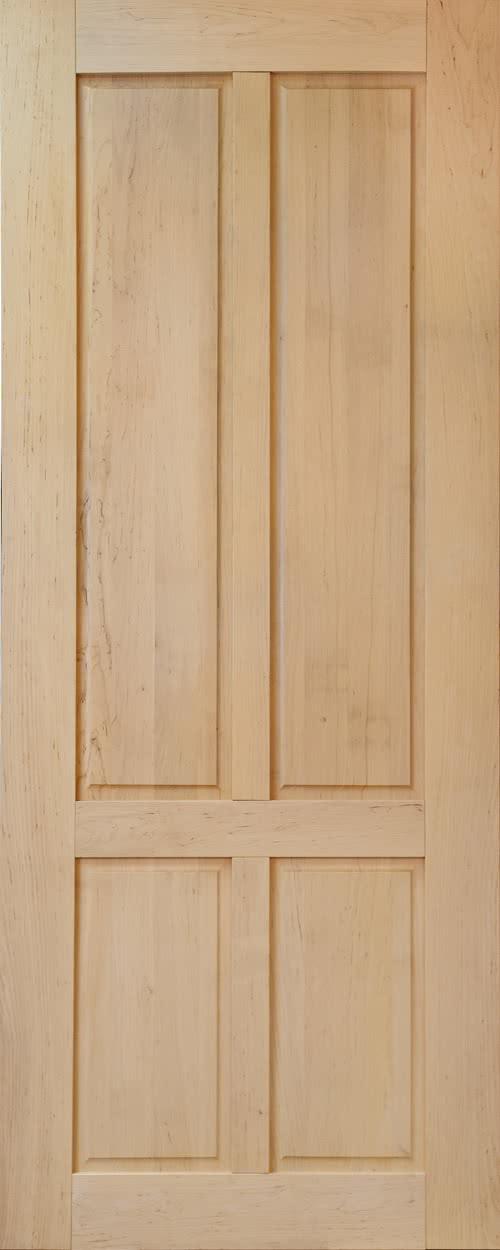 фото: дверь из ольхи