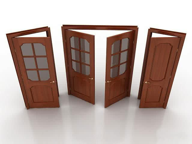 Фото: Виды межкомнатных дверей