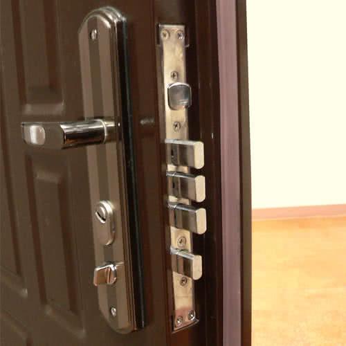 фото: как установить входную металлическую дверь