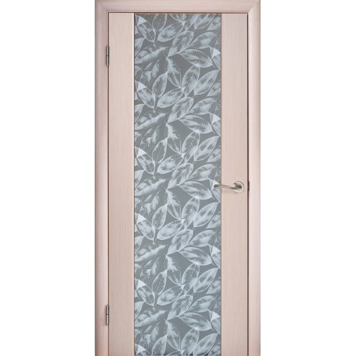 фото: витраж как декор двери