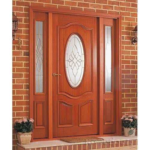 фото: Красивая входная металлическая дверь