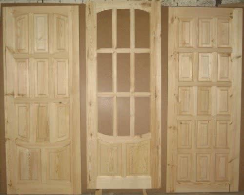фото: Разновидности филенчатых дверей