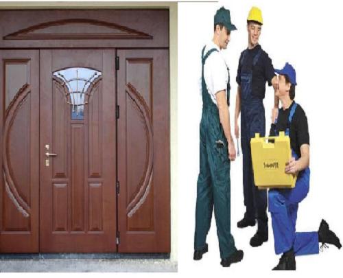 фото: Установка деревянных дверей требует подхода профессионала