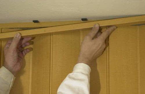 Установка двери гармошка