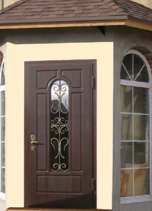 фото: Дверь для дачи металлическая