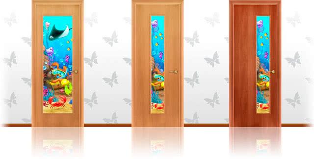 Декорации двери для детской