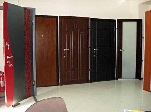 фото: импортная металлическая дверь