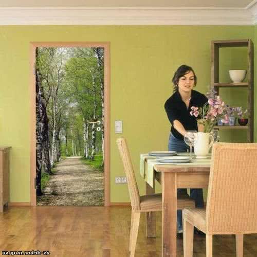 фото: декор межкомнатных дверей