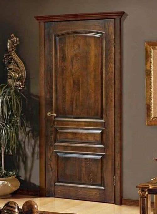 фото: дверь из бука
