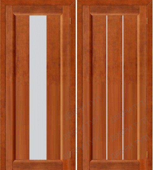 фото: дверь из ореха
