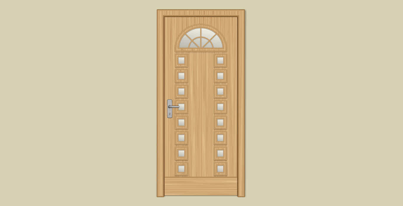 Двери из массива модели