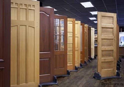 фото: изготовление двери из массива