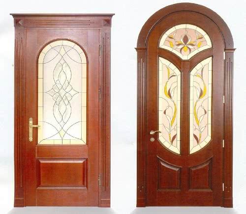 Фото: Межкомнатные двери по форме