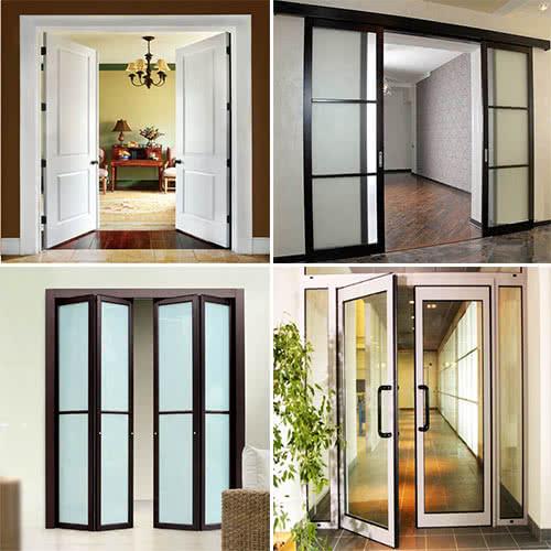 Фото: Межкомнатные двери способы открывания