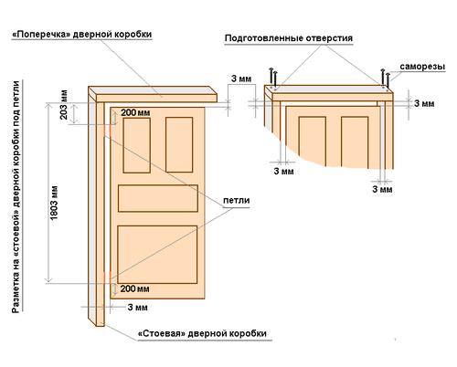 фото: размеры двери