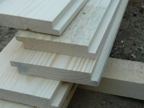 фото: Деревянные заготовки для двери