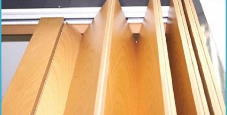Дверь-гармошка своими руками: пошаговая инструкция по 45