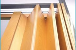 фото: Установка двери гармошка своими руками