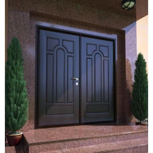 фото: Входная деревянная дверь своими руками