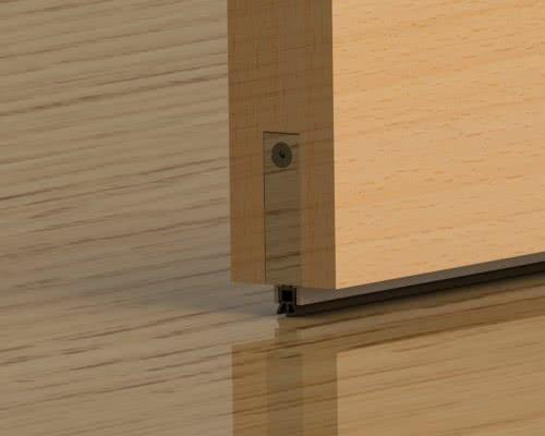 фото: Пороговый уплотнитель для дверей