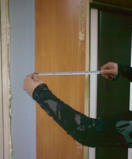 фото:Правильные замеры дверных доборов