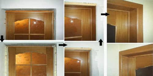 фото: Установка дверных доборов