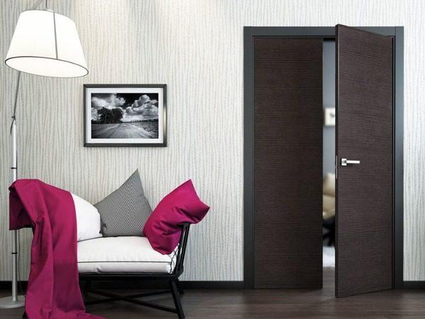 Как правильно подобрать плинтус в цвет дверей – 33 стильных фото