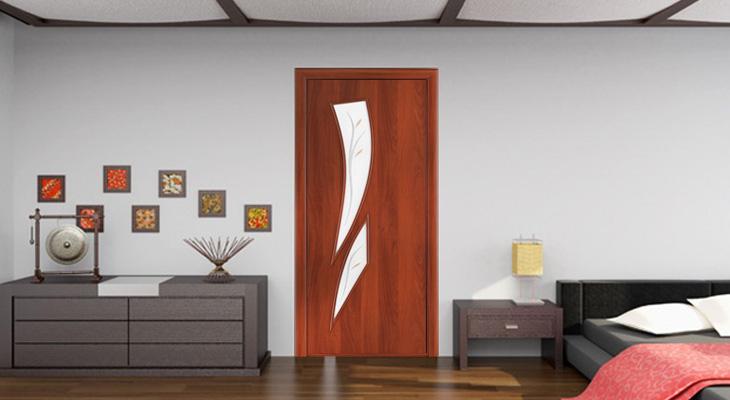 Ламинированные двери: что это такое, их плюсы и минусы